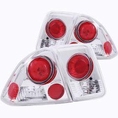 HONDA CIVIC 01-05 4DR TAIL LIGHTS CHROME