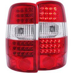 CHEVY SUBURBAN / TAHOE / YUKON / YUKON XL / G.M.C DENALI 00-06 L.E.D TAIL LIGHTS RED/CLEAR  G2