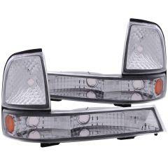 FORD RANGER 98-00 PARKING/SIGNAL LIGHTS EURO CHROME AMBER