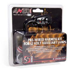 12V Auxiliary Wiring Kit w/ Illuminated Switch