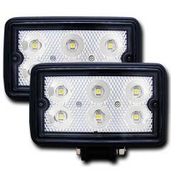 """Rugged Vision 3""""x 5"""" High Power L.E.D Fog Light (Pair)"""