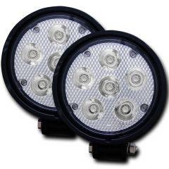 """Rugged Vision 4.5"""" Round High Power L.E.D Fog Light (Pair)"""
