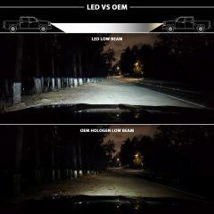 2016 - 2018 CHEVROLET SILVERADO 1500 LED Projector Headlights