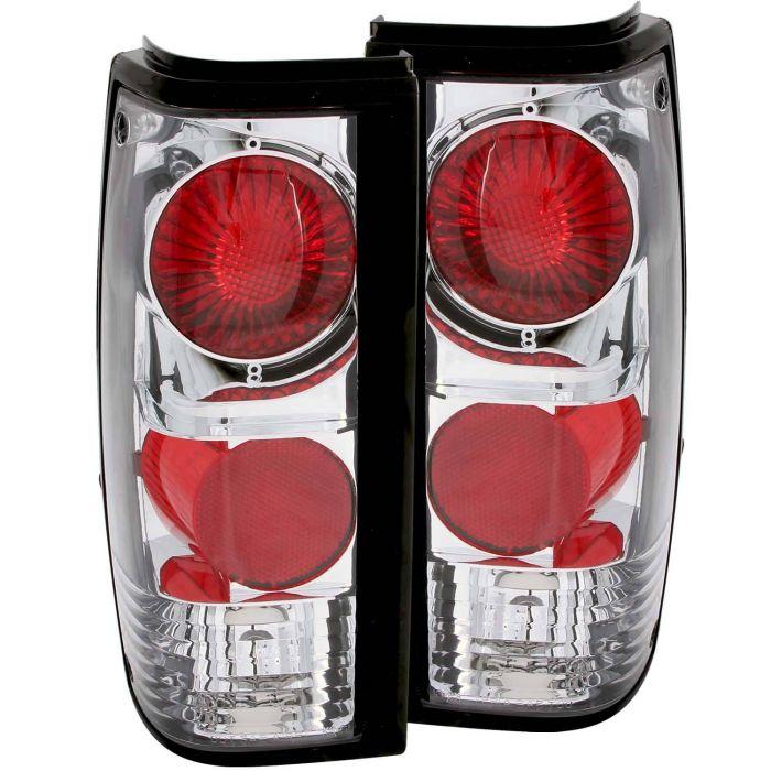 CHEVY S-10 82-93 / GMC SONOMA 91-93 TAIL LIGHTS CHROME