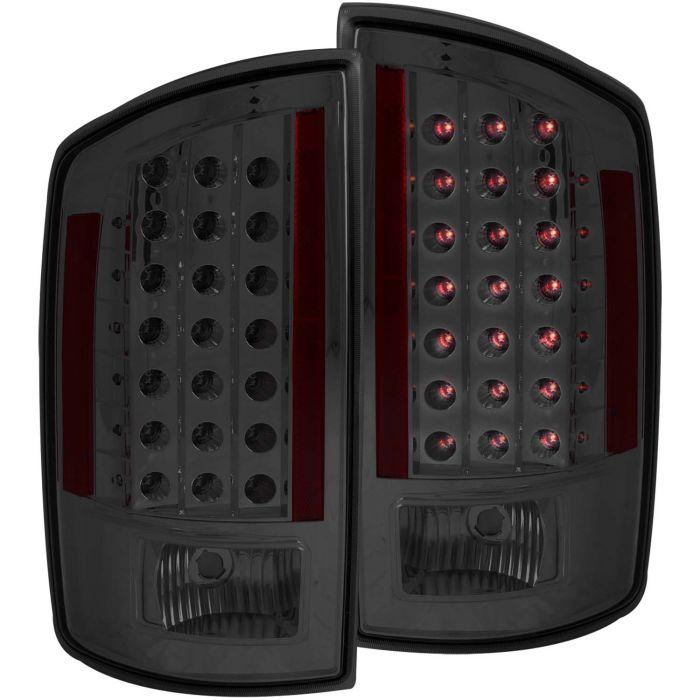 DODGE RAM 1500 06-08 / RAM 2500/3500 07-09 L.E.D TAIL LIGHTS SMOKE