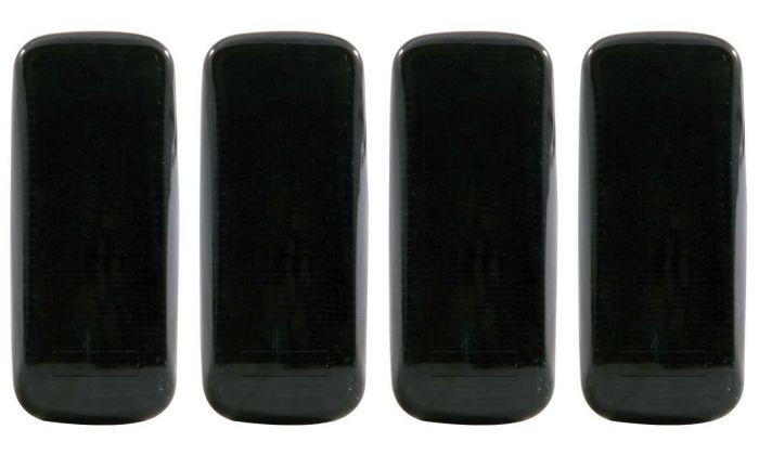 DODGE RAM 10-15 L.E.D DUALLY FENDER LIGHTS SMOKE (2 RED & 2 AMBER 4PCS)